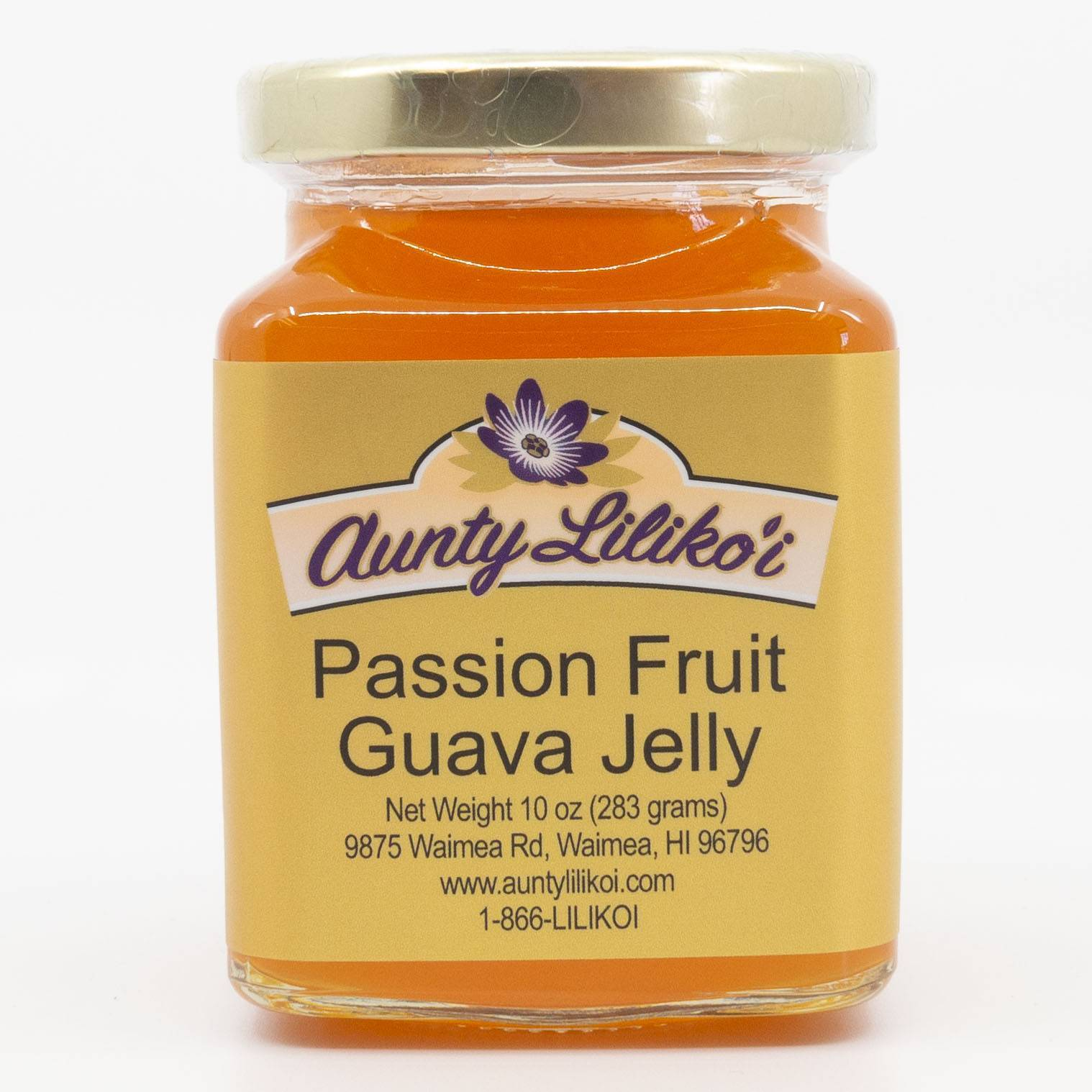 Top 13 Best Hawaiian Souvenirs to Bring Home featured by top US Hawaii blog, Hawaii Travel with Kids: Aunty Lilikoi Passion Fruit Guava Jelly from Hawaii