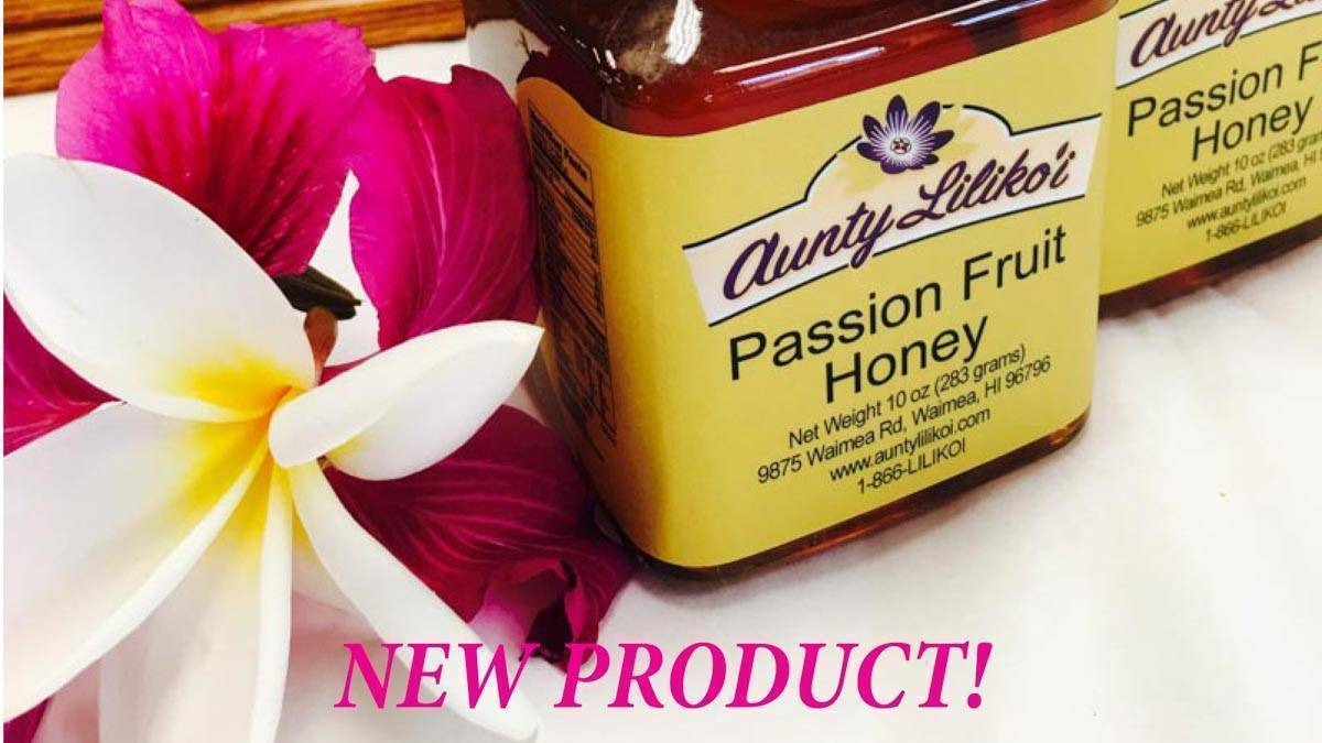 Passion Fruit Honey